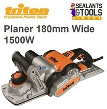 Triton Professional Electric Plane Planer Wide 180mm 1500W Wood TPL180 366649