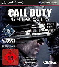 SONY PS3 Call of Duty Ghosts CoD UNCUT PlayStation 3 Shooter USk18 Geister OVP
