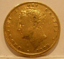 Great Britain 1825 Gold Sovereign XF George 4