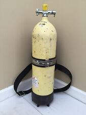 Voit Steel 80 Scuba Tank w/ US Divers Valve & Backpack 2250psi 1960s Pre-DOT