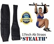 ABZ-ECLIPSE 17inch Abdominal-Crunch Slings Weight Lifting Gym Straps