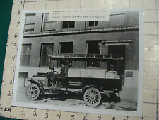 vintage AT&T Photo: 1916 Minneapolis city deliveries Western Electric co. repro