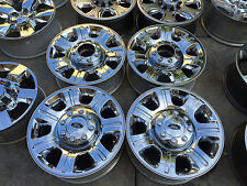 20 inch Ford F250 F350 Chrome Clad  wheels rims FORGED One Piece 2of3 Sensors