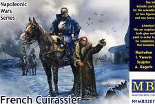Masterbox Napoleon Reiter auf Pferd mit Frau 1:32 Horse Soldat French Cuirassier