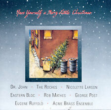 Have Yourself A Merry Little Christmas CD Rhino Roches Dr John Nicolette Larson