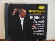 KUBELIK Dvorak sinfonia n.8-CD- DEUTSCHE GRAMMOPHON-Grandi interpreti-DeAgostini