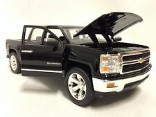 2014 Chevy Silverado LTZ, Just Truck, Collectible, Diecast 1:24 Jada Toy, Black