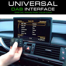 DAB Universal Wireless In Car Digital Radio Tuner Interface & Antenna - NEW