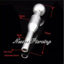 Urethral sound hollow dilator catheter princes wand piercing stretch plug
