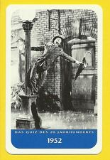 Singing In The Rain Gene Kelly Cool Movie Film Collector Card from Europe