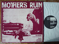"""MOTHER'S RUIN - GODZILLA - A JAPANESE LOVE SONG  Swiss Punk 12""""  Off Course MINT"""