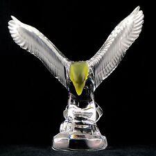 """Sujet """"AIGLE"""" Cristal ROYALE DE CHAMPAGNE Eagle Crystal Figurine/daum/lalique..."""