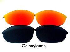 Galaxie Verres De Rechange Pour Oakley Half Jacket XLJ noir et rouge polarisé