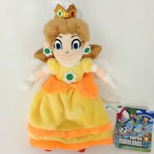 New Super Mario Bros. Character Plush Princess Daisy Soft Toy Stuffed Doll 9""