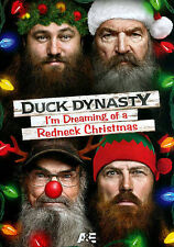 Duck Dynasty I'm Dreaming of a Redneck Christmas DVD New Sealed FREE US Shipping