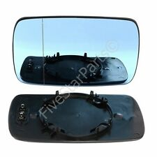 Left Passenger side Blue wing mirror glass for BMW E46 Compact 98-05 Heat