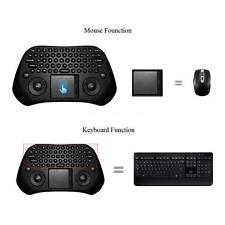 Super Measy GP800 Portable QWERTY 79 Keys RC Air Mouse 2.4GHz Wireless Keyboard