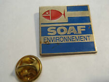 PIN'S SOAF ENVIRONNEMENT