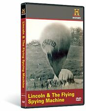 LINCOLN & THE FLYING SPYING MACHINE (HISTORY CHANNEL DOCUMENTARY) NEW AND SEALED