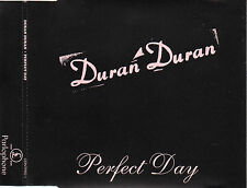 "DURAN DURAN ""PERFECT DAY"" RARE PROMO CD SINGLE + PRESS NOTE FOR DJs / LOU REED"
