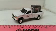1/64 CUSTOM Ford f350 producers hybrids TRUCK & probox Seed corn ERTL farm toy