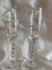 DECORATA bicchieri party wedding celebrationrhinestone e Daisy Champagne flauti
