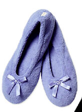 PURPLE -Y BLUE GOLDTOE BALLET SLIPPERS FLAT SHOES SIZE 8 - 9 LARGE NWT