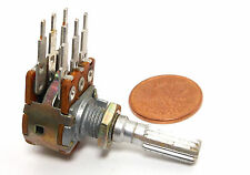 ALPS 25K Ohm Dual B LINEAR Pot 1970s Japan Potentiometer NOS Pedal Volume Audio