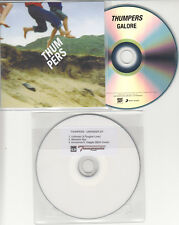 THUMPERS Galore 2014 UK 12-trk promo test CD + bonus disc Unkinder EP