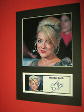 SHERIDAN SMITH ACTRESS  A4 PHOTO MOUNT SIGNED (PRE-PRINTED)
