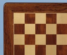 "Padauk and Maple Chess Board, 20 1/2"" x 20 1/2"" Rounded Edge"