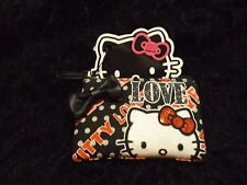 Hello Kitty black polka dot Love coin purse Sanrio wallet trademarked loungefly
