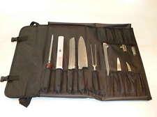 Messertasche - Messerkoffer mit 13 Fächer