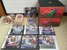 Ace Attorney Gyakuten Saiban 1 2 3 4 5 + 6  e-CAPCOM Limited set Nintendo 3DS