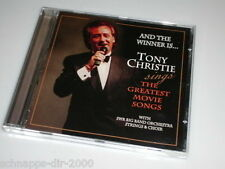 TONY CHRISTIE SINGS THE GREATEST MOVIE SONGS CD TAKE MY BREATH AWAY / EVERGREEN