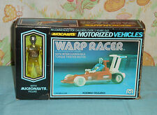 vintage Mego Micronauts WARP RACER MIB with sealed contents