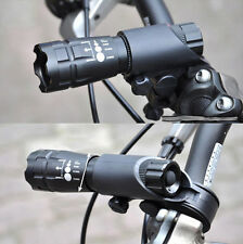 Cycling Bicycle Front Light CREE Q5 Flashlight 240 lm 3 Modes + Bike Torch Clip