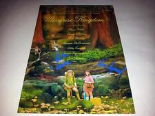 """MOONRISE KINGDOM CAST X3 PP SIGNED 12""""X8"""" POSTER WES ANDERSON"""