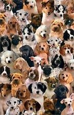 PUPPIES DOGS COLLAGE CUTE POSTER PRINT 22x34 FREE SHIPPING