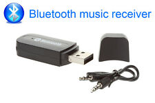 USB Car Bluetooth Stereo Music Receiver Adapter Wireless Audio 3.5mm Dongle AUX
