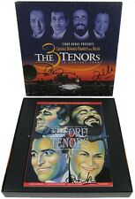 THE 3 TENORS IN CONCERT Box Set SIGNED 2X BY PLACIDO DOMINGO & ZUBIN MEHTA