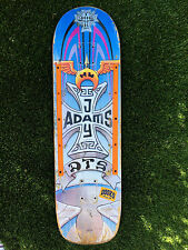 RARE!   DOGTOWN LEGEND JAY BOY ADAMS DTS LIMITED SKATEBOARD DECK