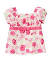 Gymboree Fairy Garden Pink Floral Top Shirt NWT 5