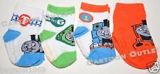 THOMAS THE TRAIN SOCKS 4 PAIRS SIZE 6-12 MONTHS INFANT THOMAS THE TANK AND FRIEN