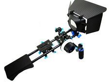 DSLR Shoulder Support Mount Rig+Follow Focus+Matte Box for Camera DV HDV