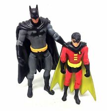 "DC Comics Infinite Heroes 3.75"" BATMAN & ROBIN figure set RARE justice Superman"