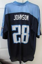 NFL Tennessee Titans Chris Johnson #28 Jersey Large by Reebok EUC