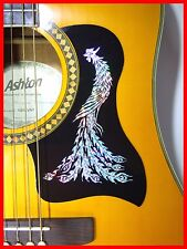 ACOUSTIC GUITAR PICKGUARD / SCRATCHPLATE SELF-ADHESIVE SILVER PHOENIX DESIGN