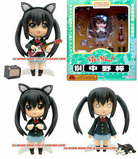 Free P&P ANIME K-ON! 104# Nakano Azusa Nendoroid Figure Face Chageable Gift toy