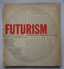 Futurism by Joshua Taylor (1961 Hardcover) Museum of Modern Art NY Exhibit MOMA